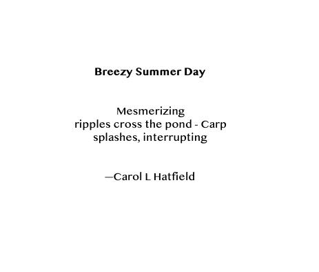 HAIKU - Breezy Summer Day